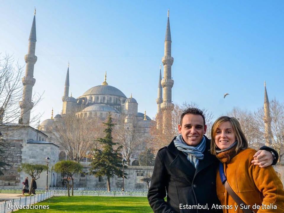 ESTAMBUL, ATENAS Y SUR DE ITALIA